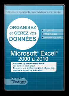 Organisez et gérez vos données sous Excel